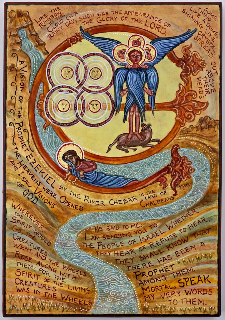 Ezekiel's Vision - See Ez 1; 10